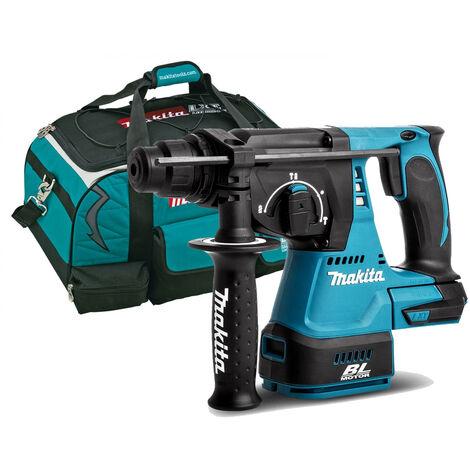 """Makita DHR242Z 18v Brushless SDS Rotary Hammer Drill + 22"""" Tool Bag:18V"""