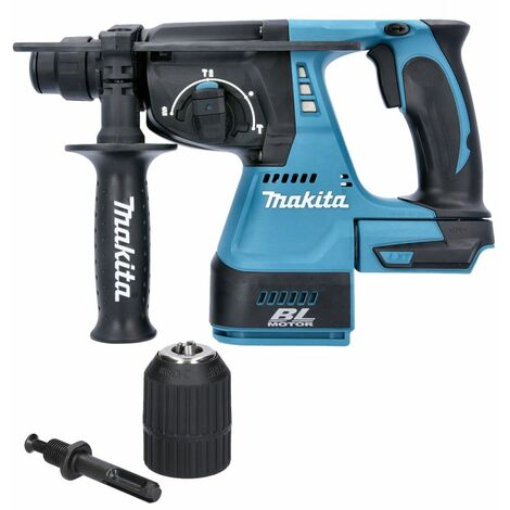 Makita DHR242Z 18V SDS+ Brushless Rotary Hammer Drill With Extra Chuck
