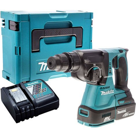 Makita DHR242Z Brushless SDS+ Hammer Drill with 1 x 4.0Ah Battery & Charger in Case