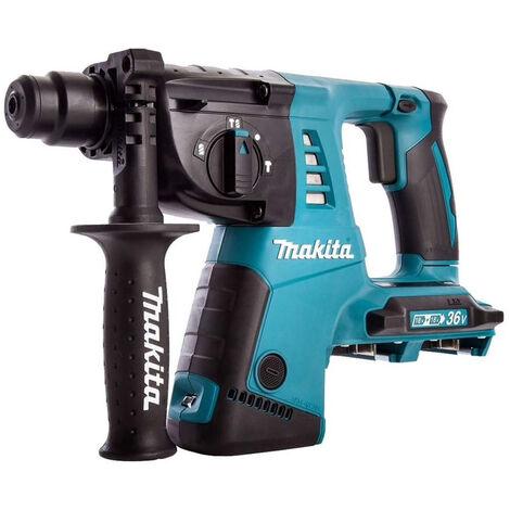 Makita DHR263Z Twin 36/18V 26mm SDS Plus Rotary Hammer Body Only:18V