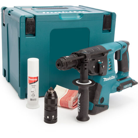 Makita DHR264ZJ 36V SDS+ Rotary Hammer Drill Body Quick Change Chuck with Case