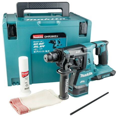 Makita DHR280ZJ 36v / 2x 18v LXT Twin SDS Brushless Hammer Drill AVT + Makpac