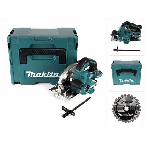 Makita DHS 660 ZJ Scie circulaire sans fil 165 mm 18V Solo + Coffret de transport - sans batterie, sans chargeur