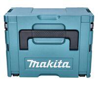 Makita DHS 661 ZJU Scie circulaire sans-fil 18V Li-Ion Brushless 165 mm + Coffret Makpac + Lame de scie - Sans Batterie - Sans Chargeur