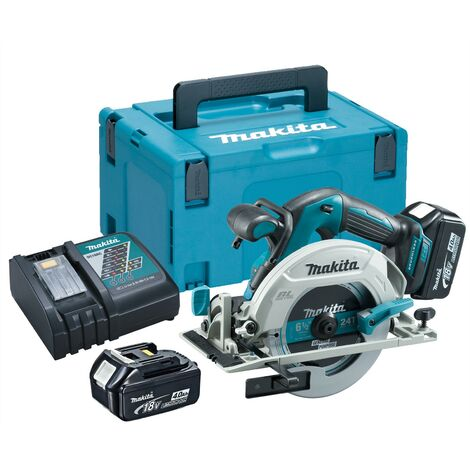 Makita DHS680RMJ 18v Lithium Brushless Circular Saw 165mm - 2 x 4.0ah Batteries