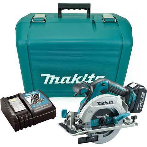 Makita DHS680RT 18v Lithium Brushless Circular Saw 165mm - 1 x 5.0ah Battery