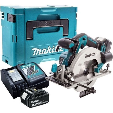 Makita DHS680Z 18V Brushless Circular Saw with 2 x 3.0Ah Battery & Charger in Case