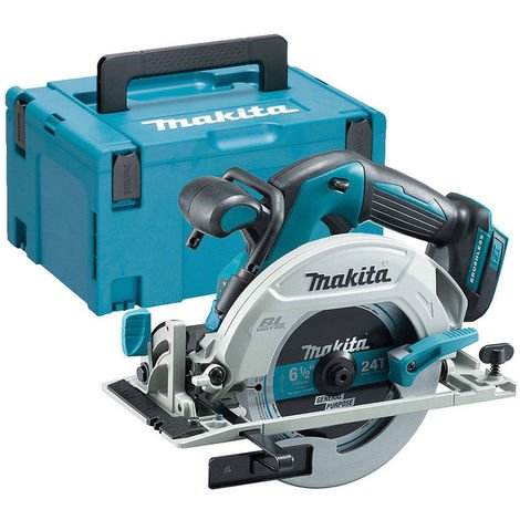 Makita DHS680ZJ 18v Brushless Circular Saw 165mm With MakPac Case:18V