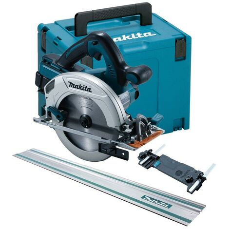 Makita DHS710ZJ Twin 18v / 36v 185mm Cordless Circular Saw LXT + Guide Rail