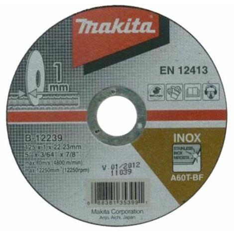 MAKITA Discos de corte para amoladoras - 125mm - B-12239