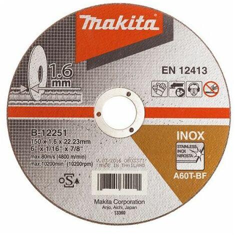 Makita Disque à tronçonner, 150mm, 40 pièces - B-12251-40