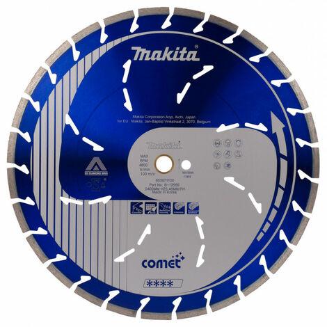 Makita - Disque diamant COMET Ø 400 x 20/25,4 mm - B-13568 - TNT
