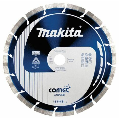 Makita Disque diamant Comet Enduro 3DDG anti-vibration, anti-bruit Stealth - B-12756