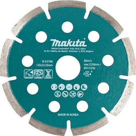 Makita Disque diamant fin pour meuleuse à batterie - B-53796
