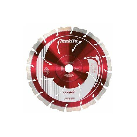 Makita Disque diamant Quasar 3DDG anti-vibration, anti-bruit Stealth 300x20mm - B-17588