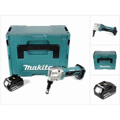 Makita DJN 161 F1J Roedora a batería 18V en Makpac 2 + 1x Batería BL1830 3,0 Ah - Sin cargador incluido