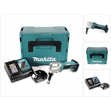 Makita DJN 161 RF1J Roedora a batería 18V en Makpac 2 + 1x Batería BL1830 3,0 Ah + Cargador DC 18 RC