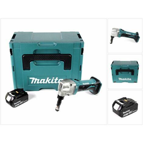 Makita DJN 161 T1J Roedora a batería 18V en Makpac 2 + 1x Batería BL1850 5,0 Ah - Sin cargador incluido