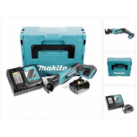 Makita DJR 183 RF1J Scie récipro sans fil 18V + 1x Batterie 3,0Ah + Chargeur + Makpac