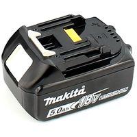 Makita DJR 188 RTJ 18 V Brushless Li-ion Scie récipro sans fil avec Coffret de transport Makpac + 1x Batterie Makita BL 1850 5,0 Ah / 5000 mAh - sans Chargeur