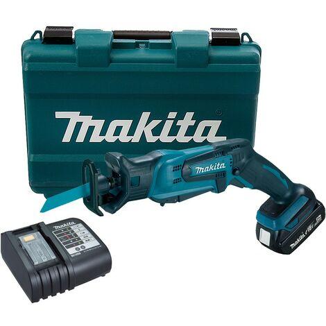 Makita DJR183SY 18v Cordless Reciprocating Pruning Saw Tool-less Blade + Case