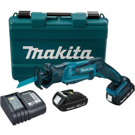 Makita DJR183SYE 18v Cordless Reciprocating Pruning Saw Tool-less Blade + Case