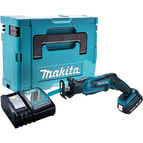 Makita DJR185Z 18V Reciprocating Saw with 1 x 3.0Ah Battery & Charger in Case:18V