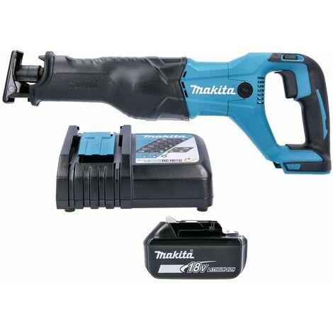 Makita DJR186 18V Cordless Reciprocating Saw With 1 x 4.0Ah Battery & Charger