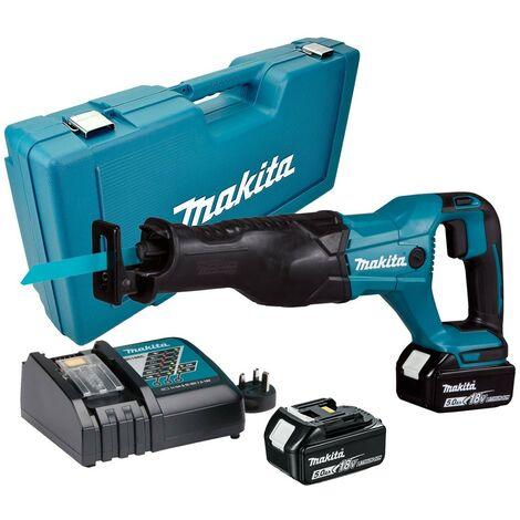 Makita DJR186RTE 18v LXT Reciprocating Recip Sabre Saw - 2 x 5.0ah Batteries