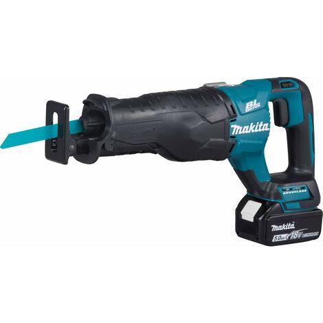 Makita DJR187RTE 18v Brushless Reciprocating Saw with 2x 5.0amp Batteries