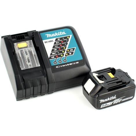 Makita DJV 181 RT1J Scie sauteuse pendulaire sans fil 18V Brushless + 1x Batterie 5.0Ah + Chargeur + Makpac
