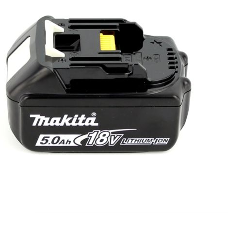 Makita DJV 181 T1J 18 V Li-ion Scie sauteuse sans fil + 1x Batterie BL 1850 B 5,0 Ah - sans Chargeur
