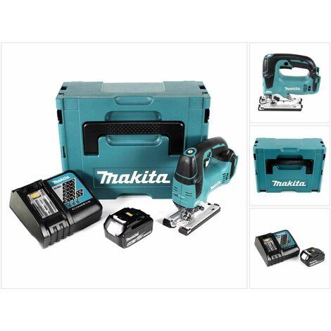 Makita DJV 182 RG1J Scie sauteuse sans fil 18V Brushless + 1x Batterie 5,0Ah + Chargeur + Coffret