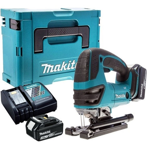 Makita DJV180Z 18V LXT Jigsaw with 2 x 3.0Ah Batteries & Charger in Case