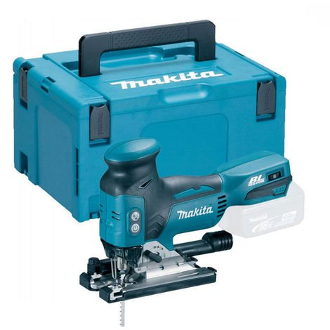Makita DJV181Z 18v Brushless Jigsaw & Makpac Connector Case With Inlay