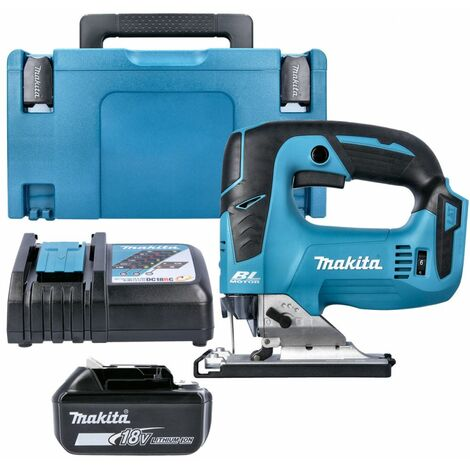 Makita DJV182 18V LXT Brushless Jigsaw With 1 x 5.0Ah Battery, Charger & Case
