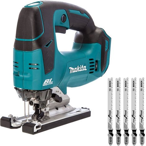 Makita DJV182Z 18V Brushless Jigsaw With T101B 5 x Blades For Wood