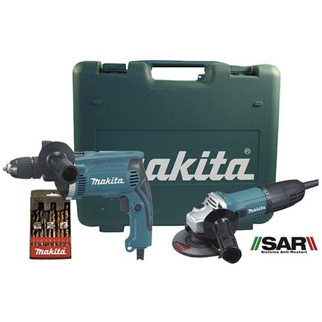 MAKITA DK0049X1 - Combo ga4530r con hp1631