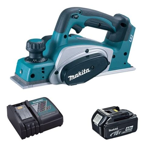 Makita DKP180Z 18V LXT Planer 82mm With 1 x 4.0Ah Battery & Charger