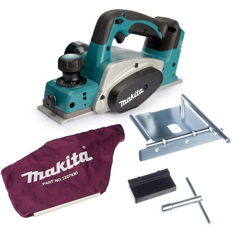 Makita DKP180Z 18v Planer LXT Lithium Ion Cordless Bare Tool - Includes Dust Bag