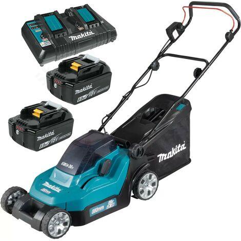 Makita DLM382 18v / 36v LXT Cordless Lithium Battery Lawn Mower 2 x 6.0ah