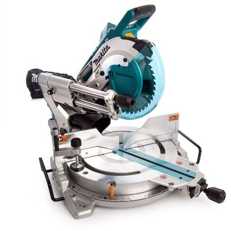 Makita DLS110Z 36v Twin LXT Brushless Slide Compound Mitre Saw 260mm Body Only