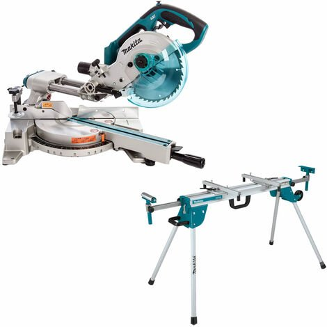 """main image of """"Makita DLS713Z 18V LXT 190mm Slide Compound Mitre Saw With Leg Stand"""""""