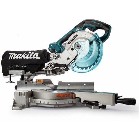Makita DLS714NZ 36V LXT Brushless 190mm Slide Compound Mitre Saw Body Only