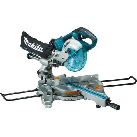 Makita DLS714Z Twin 18V LXT Slide Compound Brushless Mitre Saw (Body Only)