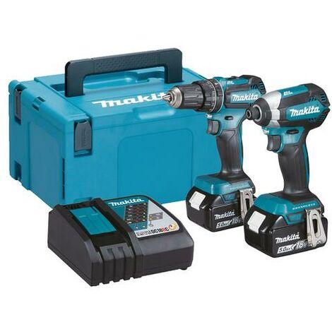 Makita DLX2283TJ 18v Brushless Twinpack with 2x 5.0ah Batteries