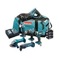 Makita DLX6075M 18V 3x4.0Ah LXT Cordless 6 Piece Kit