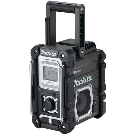 Makita DMR106B Jobsite Bluetooth/USB Radio Black
