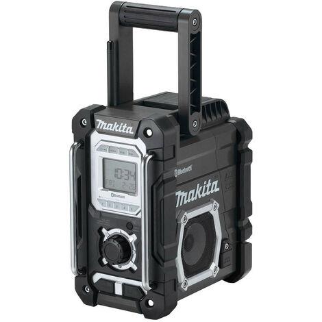 Makita DMR108B Black Jobsite Bluetooth USB Radio