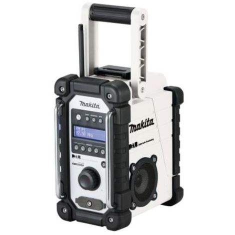 MAKITA DMR109 WHITE DAB SITE RADIO